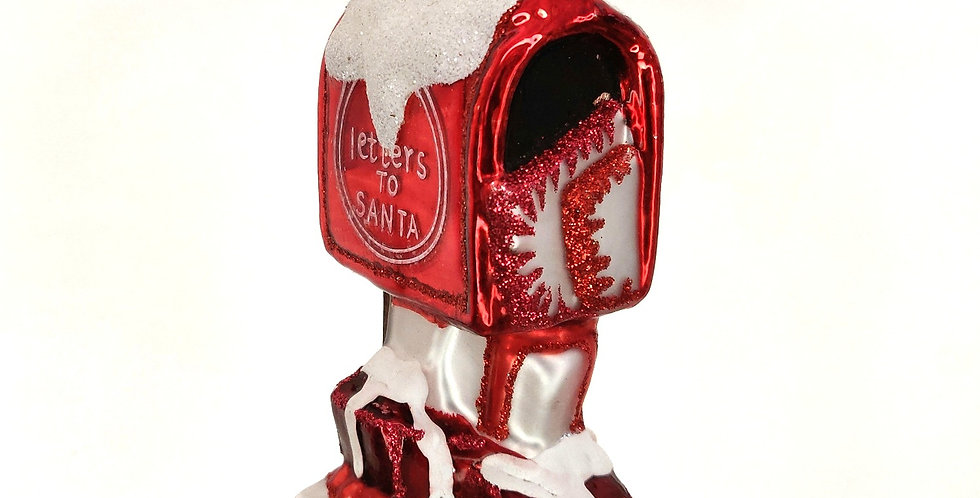 Letters To Santa Mailbox Ornament