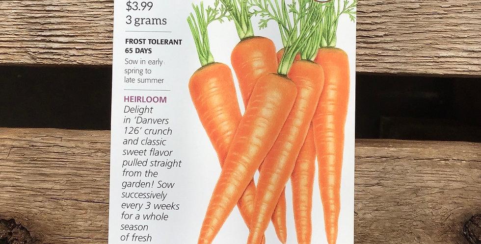 Carrot Danvers 126 big pack