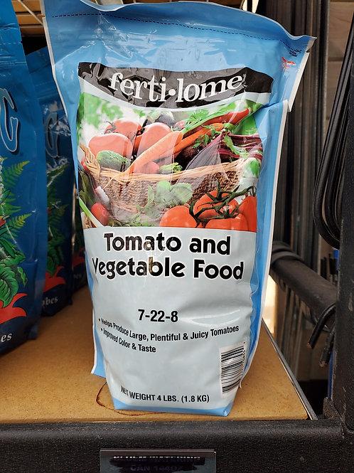 Fertilome tomato and vegetable food 4lb