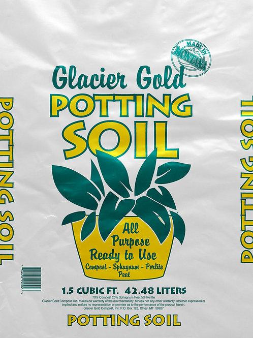 Glacier Gold Potting Soil 1.5CF