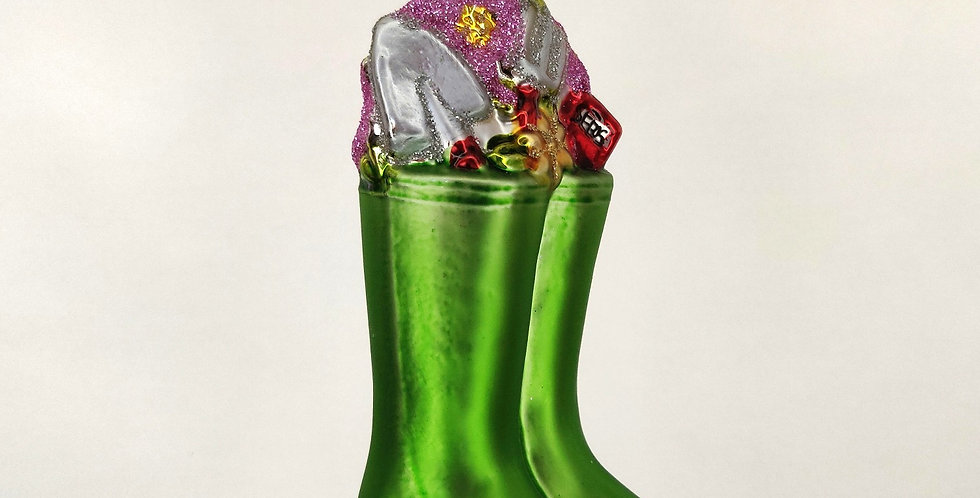 Green Boots Ornament
