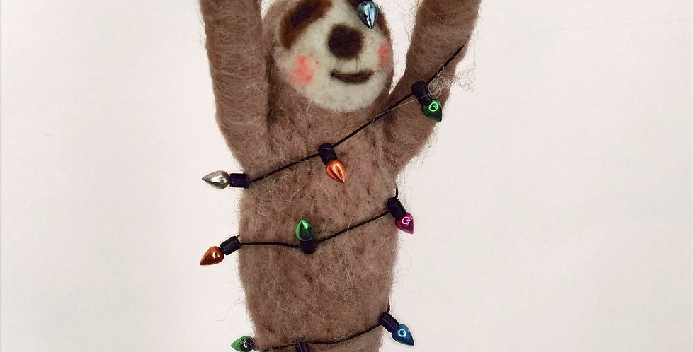 Party Sloth Ornament