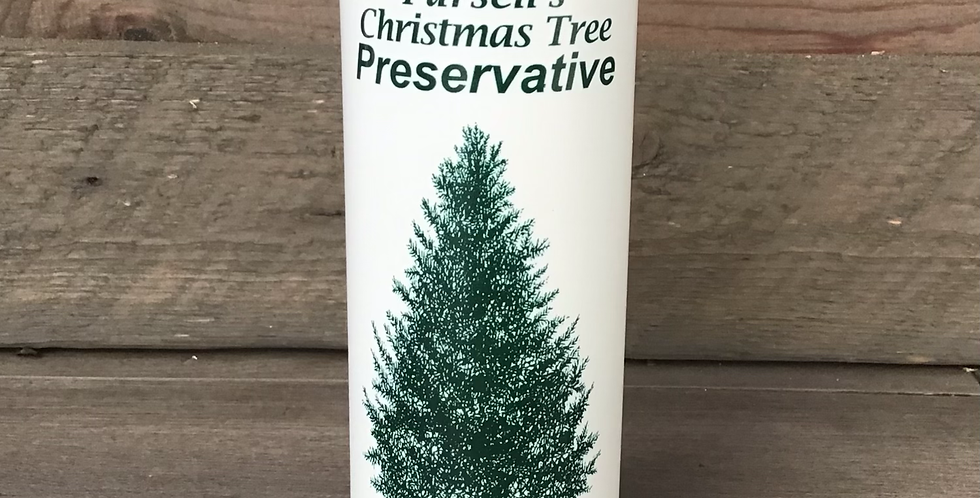 Pursell's Concentrated Christmas Tree Preservative 8 fl oz