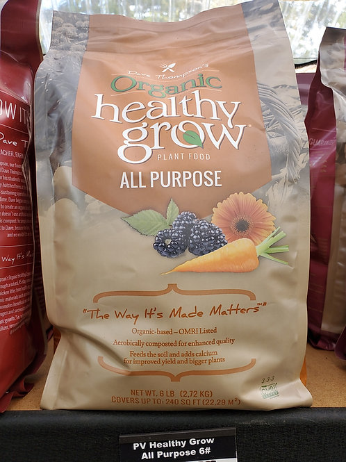 Healthy Grow all-purpose plant food 6 lb