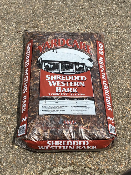 Shredded Western Bark 3CF