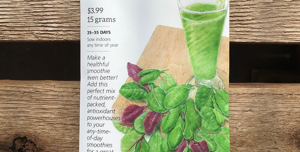 baby greens smoothie mix big pack