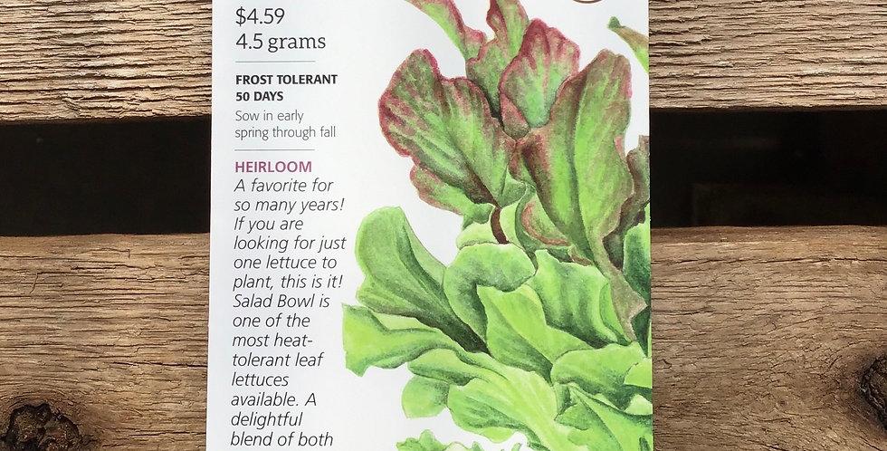 Lettuce leaf salad bowl blend big pack