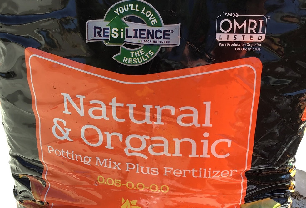 Black Gold Organic Potting Soil plus fertilizer -  2 cubic feet