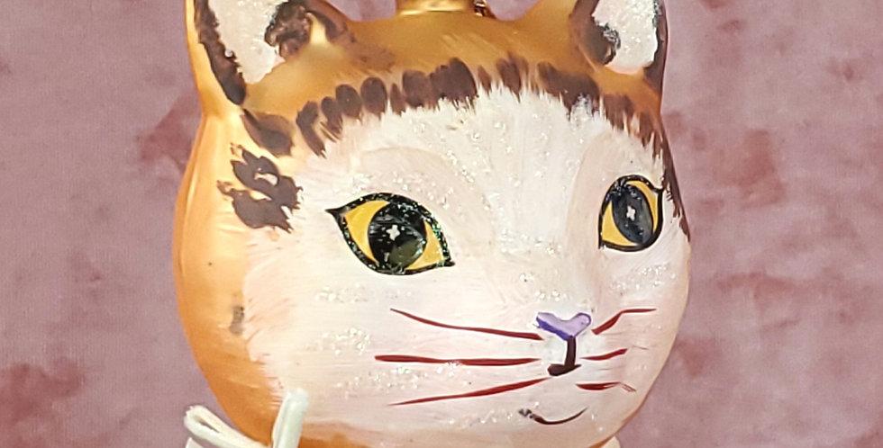 Cat by Nathalie Lete Golden Ornament