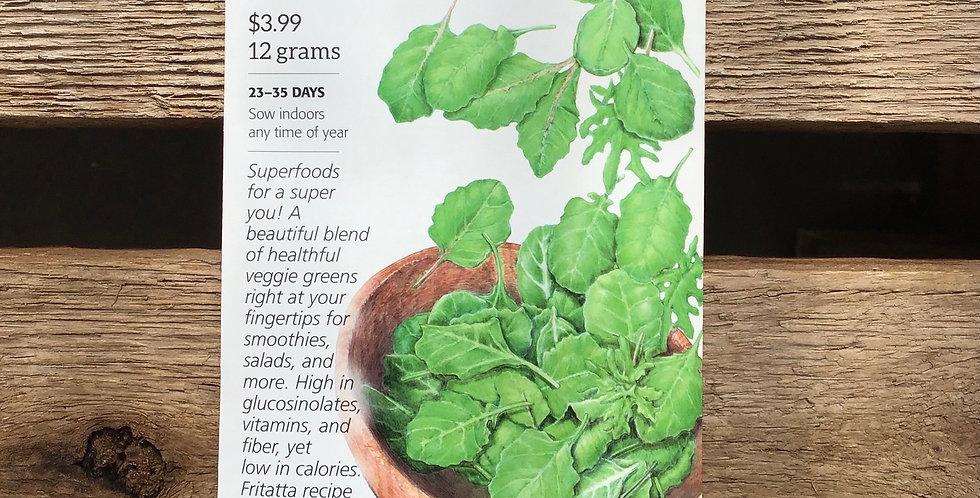 Baby greens super foods Big Pack
