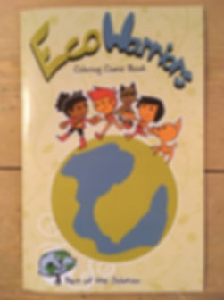 Eco-warriors comic book by Happy Earth Cleaning LLC