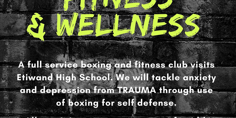 Boxing Fitness and Wellness with the Self Care Lab