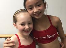 Dancer friends photo