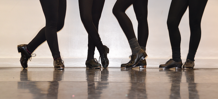 Toronto Dance Industry Inc. senior competitive tap team feet photo