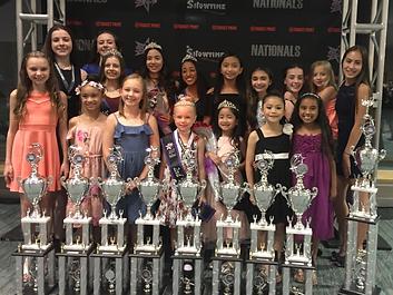 Toronto Dance Industry Inc. 2017 Luv 2 Dance National Title winners photo at the gala in Niagara Falls