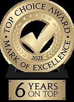 Top Choice winner logo 2021