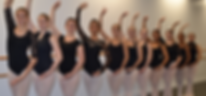 Toronto Dance Industry Inc. Senior compeitive ballet class photo