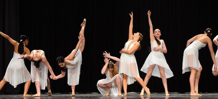 """Toronto Dance Industry Competitive contemporary dance routine photo """"Just for One Day"""""""