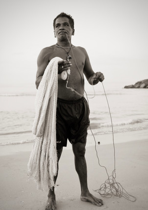 Fisherman, Negombo, Sri Lanka