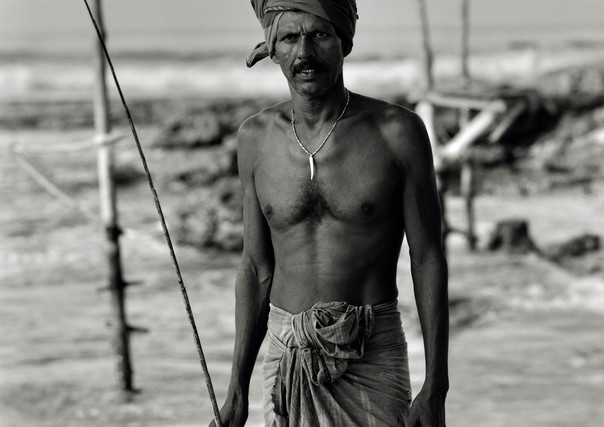 Stilt Fisherman, Koggala, Sri Lanka