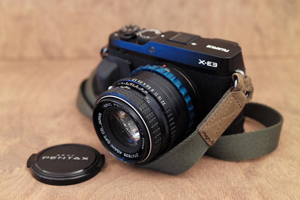 Fujifilm XE-3   SMC Pentax-M 50mm f/1.7   PK-Fuji X Novoflex adapter.