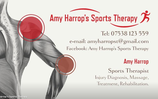 Sports therapy plymouth amyharrops sports therapy business card contact information sports therapy colourmoves