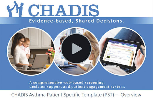 CHADIS Asthma Patient Specific Template Video