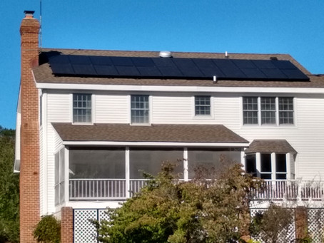 Why does my solar house lose power when the utility is down?