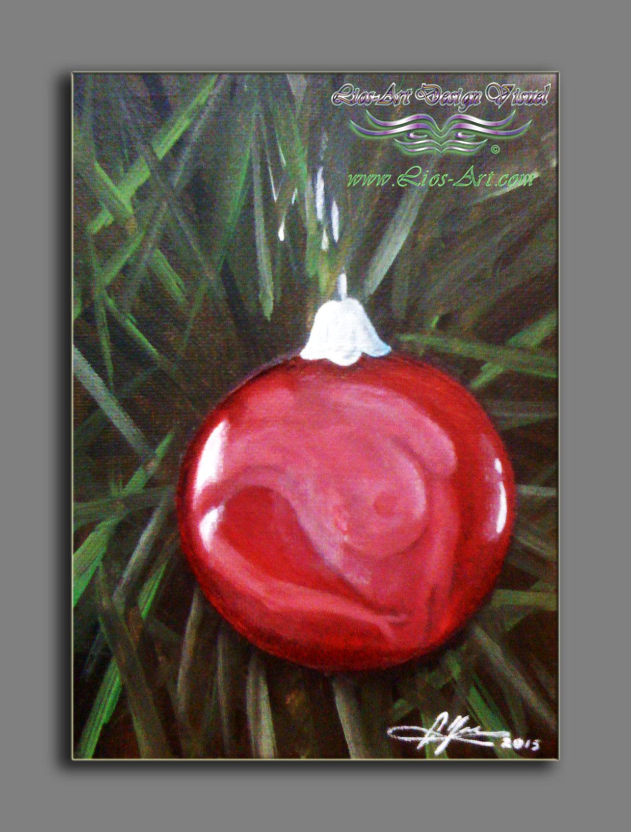 Titre : Les Boules a Noel