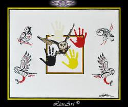 Titre: Les 4 Mains