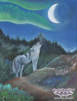 Titre : Loup d'une nouvelle année