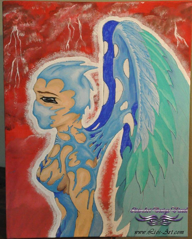 Titre : Blue angel