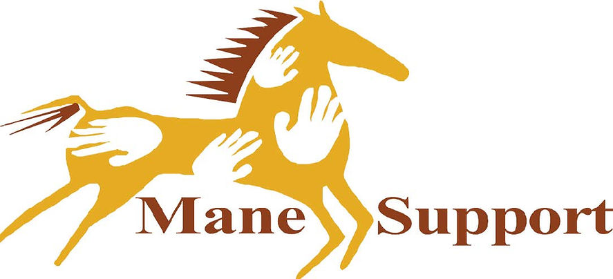 Mane Support Logo Posts
