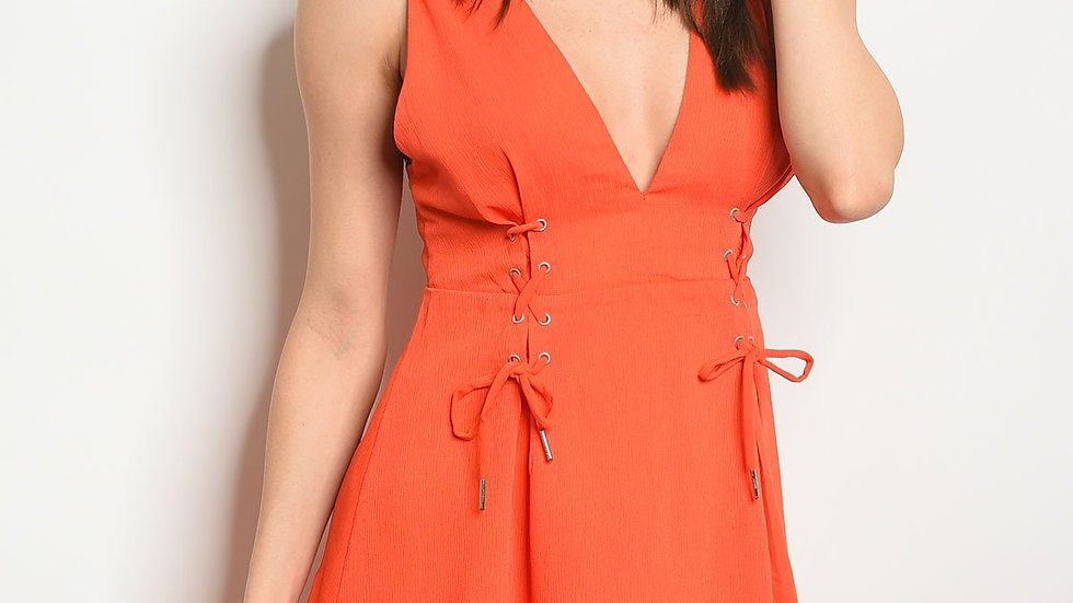 Womens Fit & Flare Dress