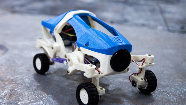 Asteroid Mission Roving Robotics