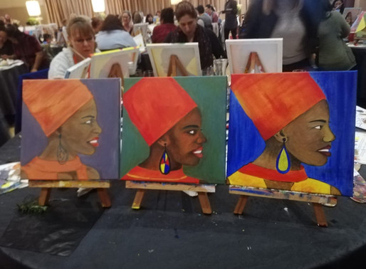 Celebrating The Incredible Women of Cape Town - A Paint & Sip Experience