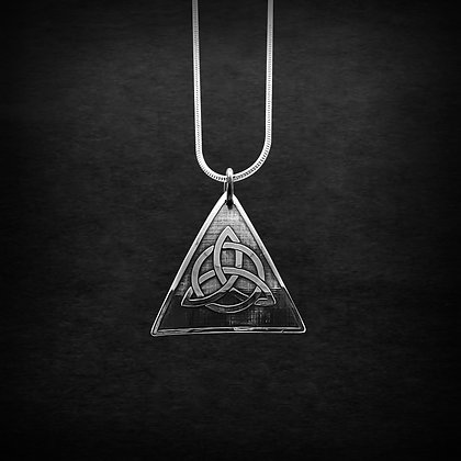 Trinity Triangle Pendants