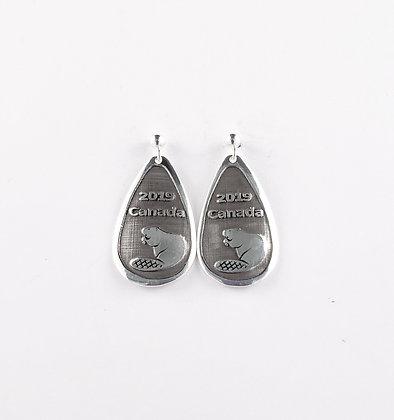 #E903 Beaver Earrings