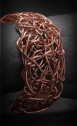 Copper Nest Cuff