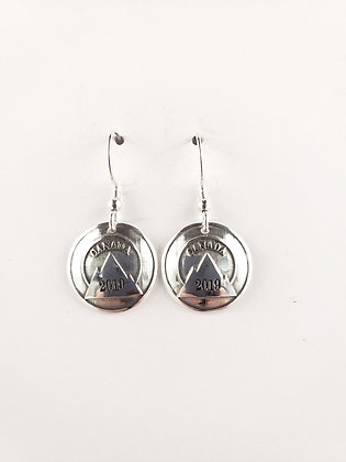 #E901 Mountain Earrings