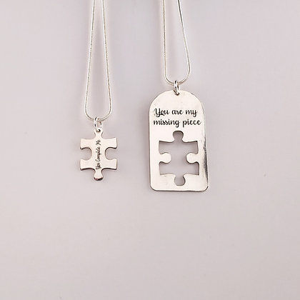 #P925 Puzzle Pendants (2 Piece)