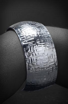 3cm Textured Cuff