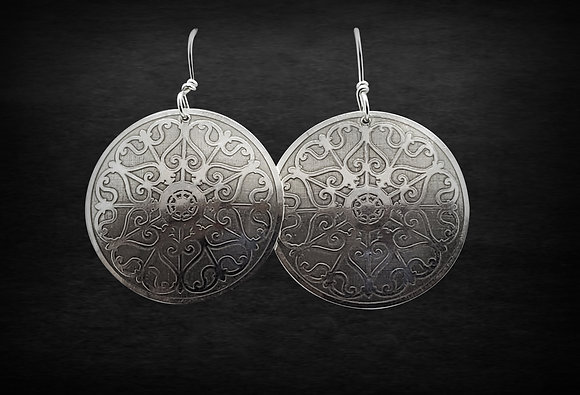 Large Fleur-de-Lis Earrings