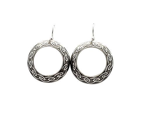 Celtic Disk Earrings