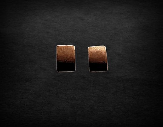 Copper Die Cut Rectangle