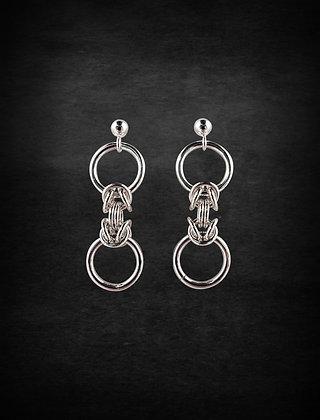 Dainty Byzantine Earring