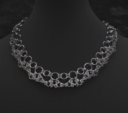 Byzantine lace collar $372-1