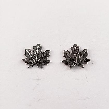 #E908 Maple Leaf Earrings