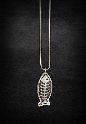 Fish Bones Pendant