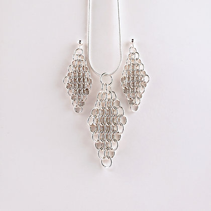 #S813 Euro 4 in 1 Set, Silver